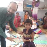Donation programme of clothes,shoes,bag,,and needed things in aadiwasi area to children's,womens